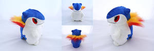 20th Anniversary Typhlosion by PlanetPlush