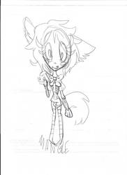 stupid mangle doodle by CopicCreation12