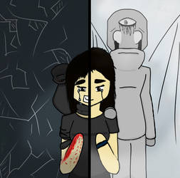 Why? {Warning! Self Harm and Blood!} [Vent?] by Eossa