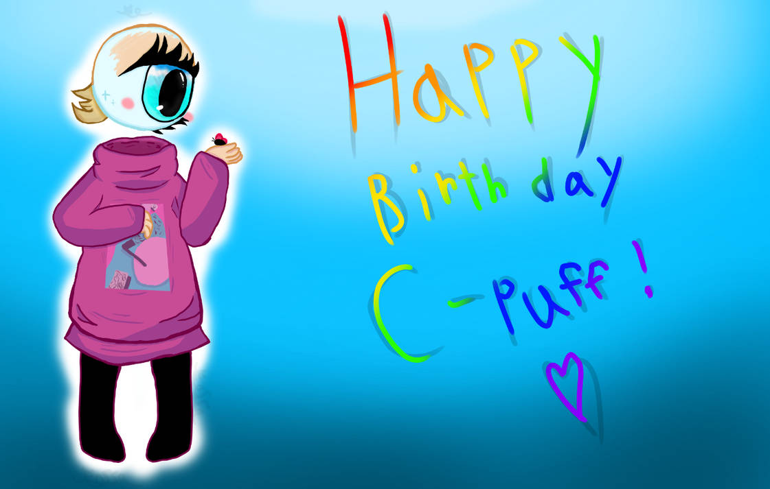 Happy Birthday C-puff! by Eossa