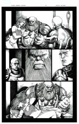 Maestro vs. Silver Surfer page 2 by danielvaladez