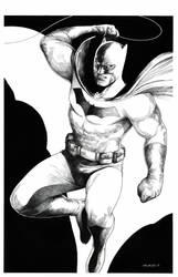 Batman by danielvaladez