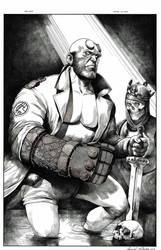 Hellboy by danielvaladez
