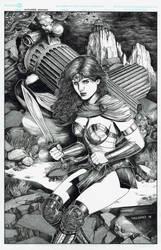 Wonder Woman by danielvaladez