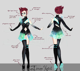 Galarxy Outfit Explain by EmanNabil