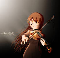 That Graceful Violin by darue