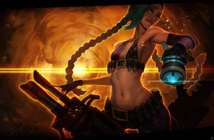 League of Legends: Jinx the Loose Cannon by Raaamen