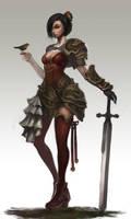 Knight Commander Princess by Raaamen