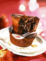 Chocolate Muffin by soimao