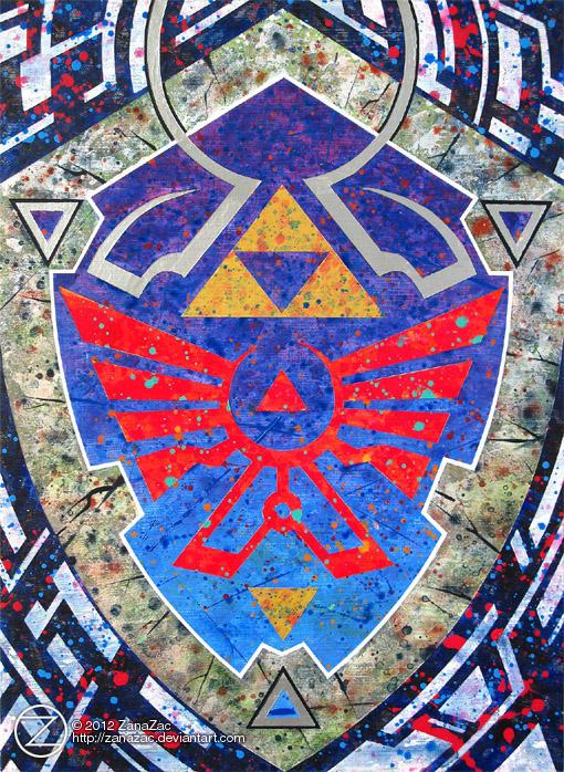 Shield of Hylia v.2 by zanazac