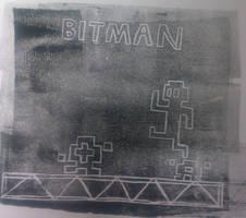 Bit-Man Print Cover by SuperAshBro