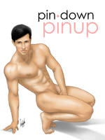 Male Pinup Art by eddiechin