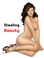Sexy Pinup Girl Stealing Beauty - heels only by eddiechin