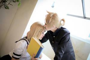 Vocaloid : Romeo and Cinderella - Kagamine Len by miyoaldy