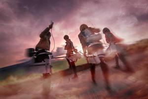Attack on Titan  - Levi by miyoaldy