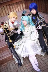 Vocaloid : Cantarella ~grace edition~ - Kaito by miyoaldy