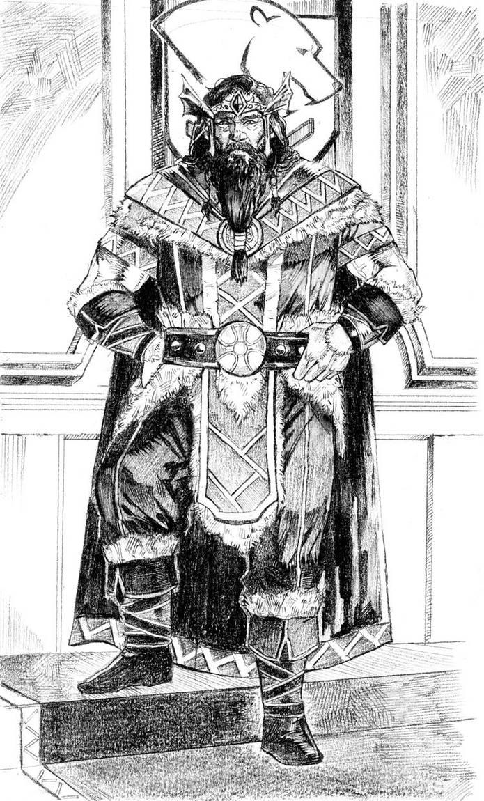 Elder Scrolls-King Jorunn by chengxiangarts