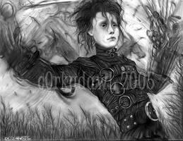 Edward Scissorhands by c0rkydawL