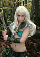 Sword Maiden 3 by Red-Draken