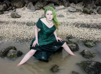 Green Dress 2 by Red-Draken