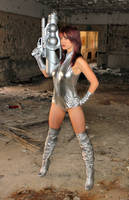 Silver Sci Fi by Red-Draken