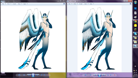 Feather pattern wip by ObsidianWolph