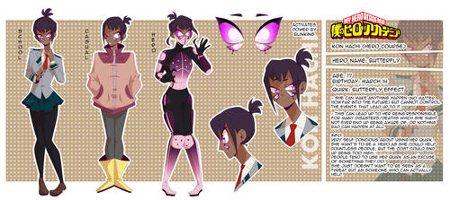 BNHA: OC - Butterfly by Glamist