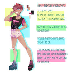Meet the OC: Ty by Glamist