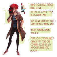 Meet the OC: Gore by Glamist