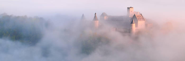Bourscheid Castle by JohnyG