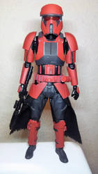 Shoretrooper custom paint job part1 The Red Legion by Grimkiller92