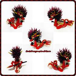 Nija, thr dragon devil - FOR SALE by CuteDragonsAndMore