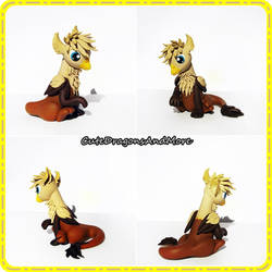 Sasha, the baby griffin - FOR SALE by CuteDragonsAndMore