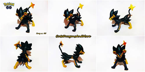 Shiny Luxray - FOR SALE by CuteDragonsAndMore
