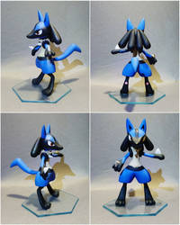 Lucario -FOR SALE by CuteDragonsAndMore