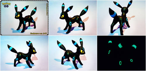 Shiny Umbreon - FOR SALE by CuteDragonsAndMore