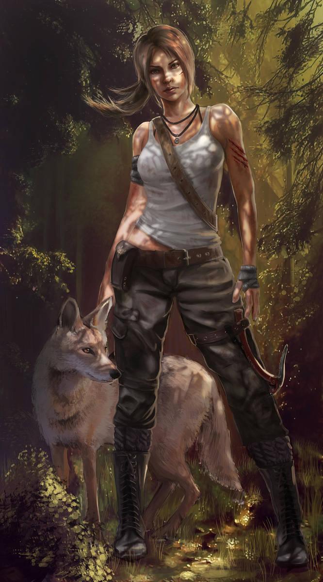 Tomb Raider: Reborn by myriamelle