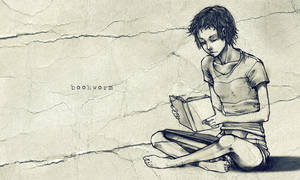Bookworm by tetraphobia
