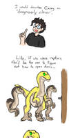 Clever Girl. . . by BlakerOats