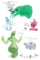 On a scale of -girl- to -monster- . . . by BlakerOats