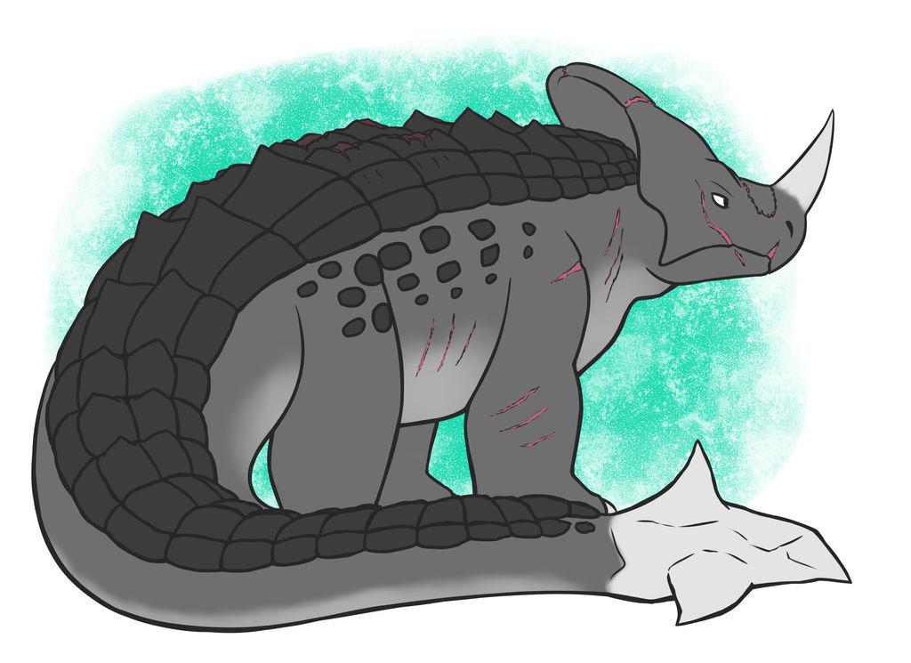 Dinosaur-ana Comm. by BlakerOats