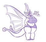 King Ghidorah Kaiju Girl by BlakerOats
