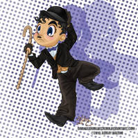 Charlie Chaplin's silly run by Orangeandbluecream