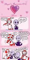 Couple Meme Astra and Kozmos by Orangeandbluecream