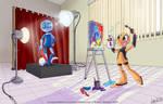100 theme 42: Standing Still by Orangeandbluecream
