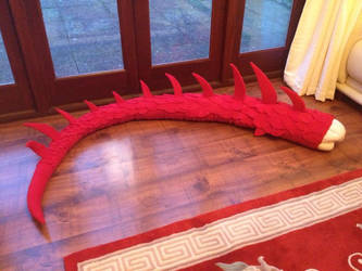 Smaug Tail WIP by R-Spanner
