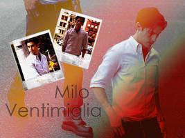 milo ventimiglia by maryad4