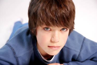 blue eyed boy by NickSchiavulli