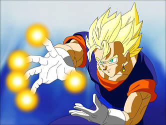 Super Vegito's Banshee Blast by Yholl