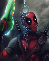 Deadpool Fanart by tgomes9